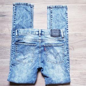 Levi's | 510 Super Skinny Acid Wash Jeans